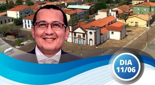"""O Presidente Ulisses Filho promoverá o evento """"Conversando com o Presidente"""" em Oeiras"""