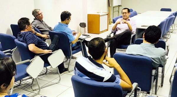 Quadro técnico e valorização profissional foram temas debatidos no Conversando com o Presidente com os profissionais da Caixa Econômica