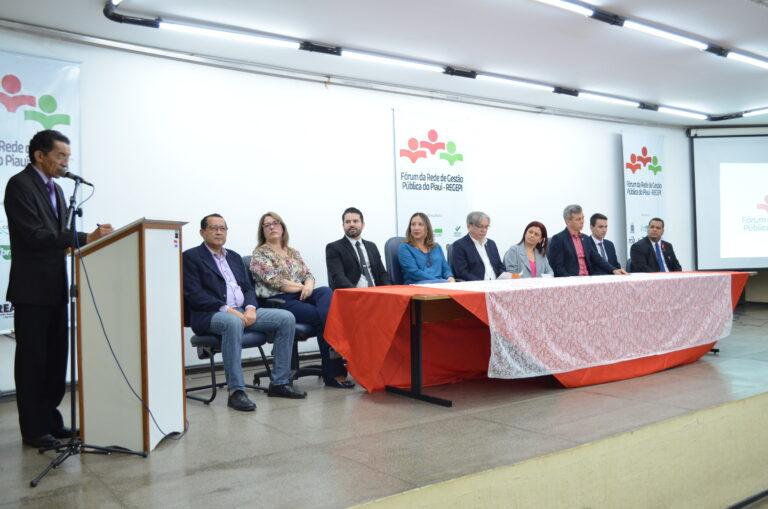 Presidente Ulisses Filho participa do Fórum da Rede de Gestão Pública do Piauí