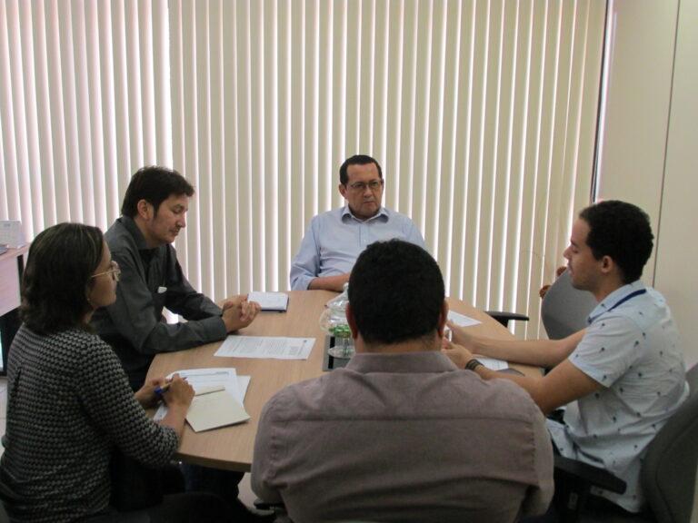 Plano de Capacitação em Recursos Hídricos é tema de reunião entre Crea-PI e Semar