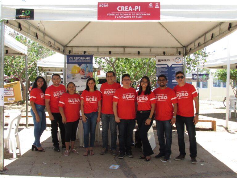 Crea-PI participa da 15º edição do Teresina em Ação