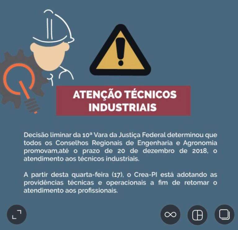 Crea-PI volta a promover registro de profissionais técnicos industriais
