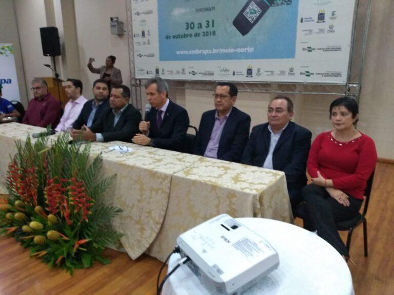 Presidente do Crea-PI participa de Workshop que debate a Inovação tecnológica no meio rural