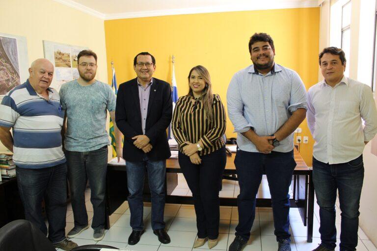 Parceria para realização de vistorias é tema de reunião entre Crea-PI e SPU, em Parnaíba