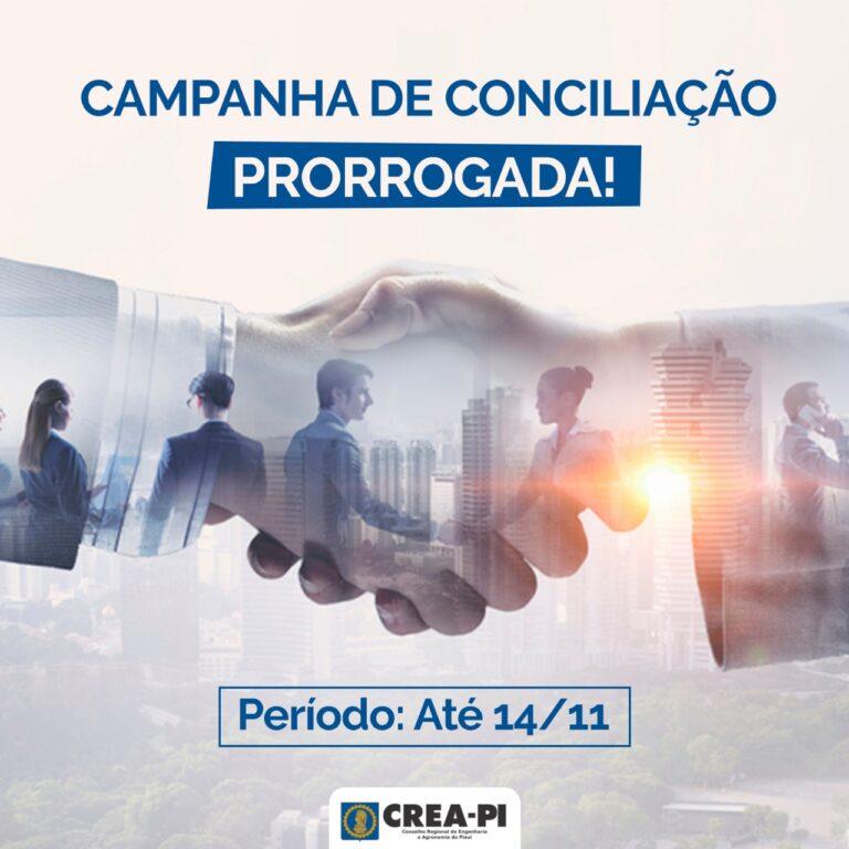 Campanha de Conciliação segue até quarta-feira. Aproveite esta oportunidade!