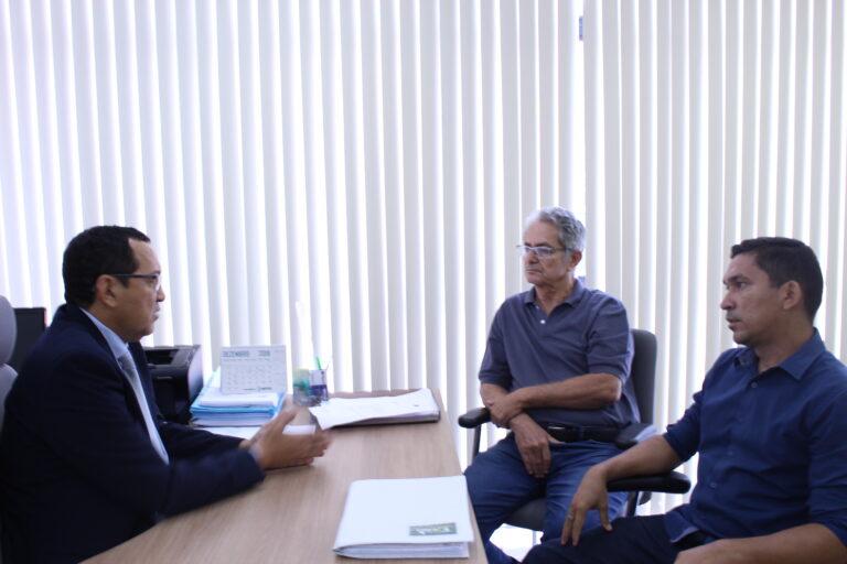 Presidente do Crea-PI recebe visita do Presidente do Comitê da Bacia Hidrográfica do Rio Parnaíba