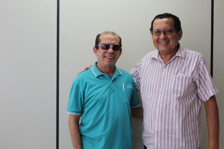 Presidente Ulisses Filho recebe visita do presidente da ASPENP