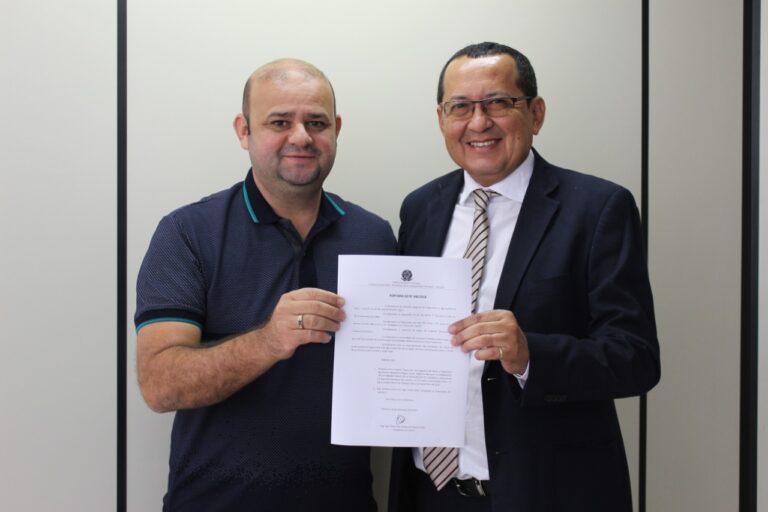 Presidente Ulisses Filho recebe visita do novo Inspetor Tesoureiro de Picos