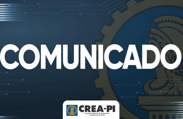 Crea-PI solicita retificação de Edital de concurso público do IFPI