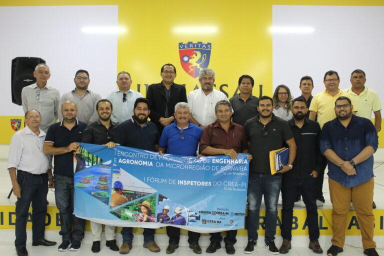 CREA-PI promove, em Parnaíba, o I Fórum de Inspetores