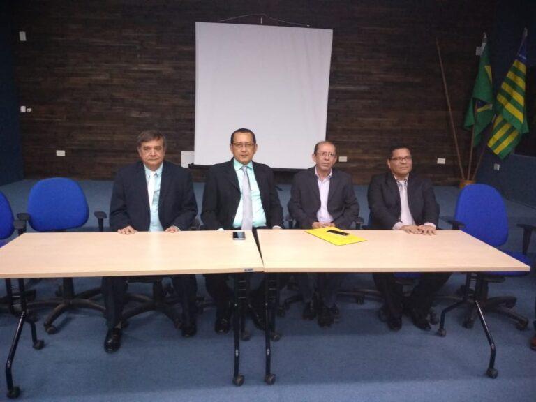 Presidente do Crea-PI prestigia posse do novo presidente e diretoria da ASPENP