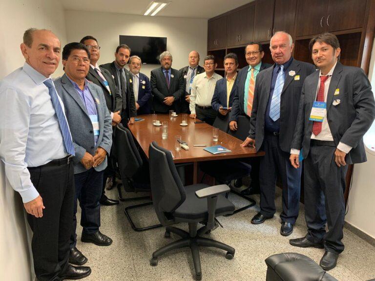 Presidente do Crea-PI e comitiva se reúnem com parlamentares federais do Estado em Brasília