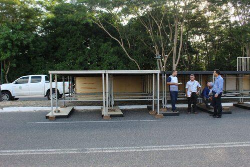 Equipe de fiscalização do Crea-PI realiza vistoria no Corso de Teresina