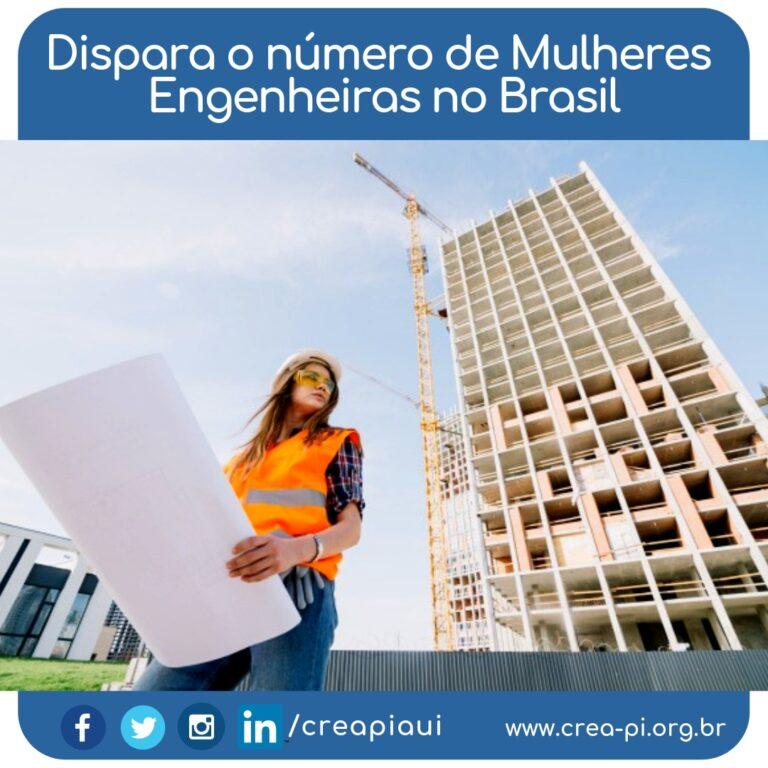 Dispara o número de mulheres engenheiras no Brasil