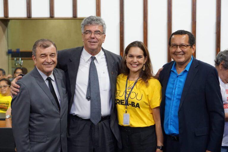 Presidente do CREA-PI discursa em lançamento de Frente Parlamentar da Engenharia na Bahia