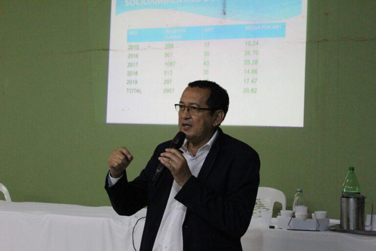 Presidente Ulisses Filho ministra palestra sobre Receituário Agronômico e Descarte de Embalagens em Piripiri