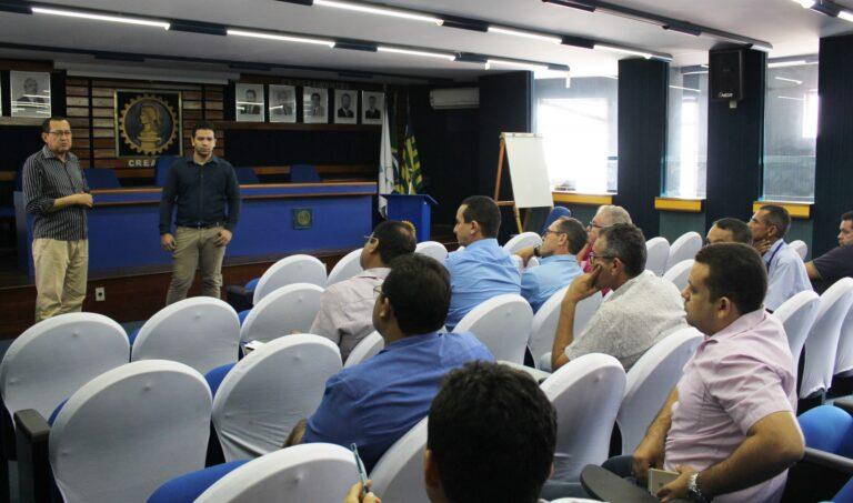 CREA-PI realiza treinamento para os agentes fiscais