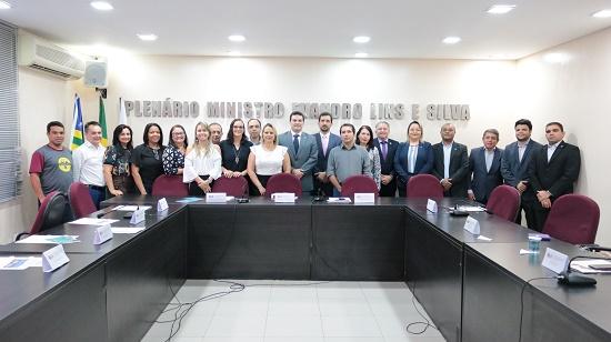 CREA-PI participa de II Encontro de Conselhos de Classe na OAB-PI