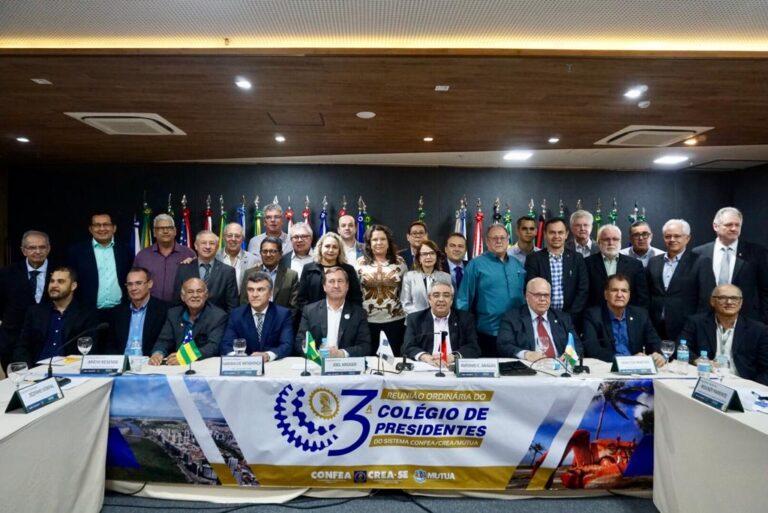 Presidente Ulisses Filho participa da 3ª reunião do Colégio de Presidentes de Creas