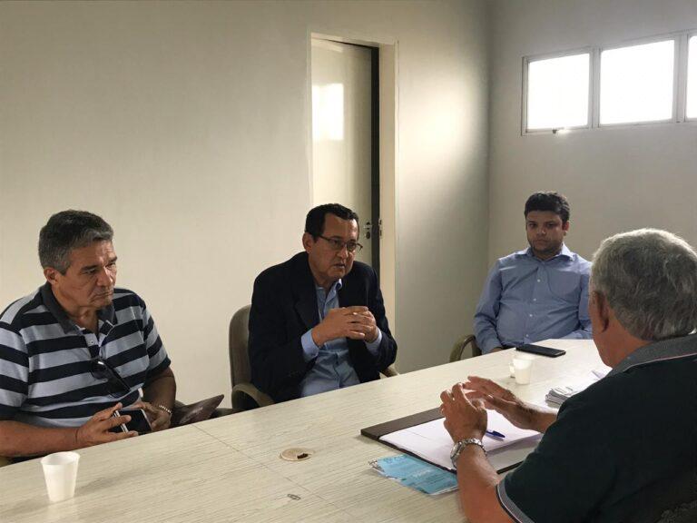 Presidente do CREA-PI se reúne com prefeito de Piripiri para discutir a importância da Engenharia, Agronomia e Geociências