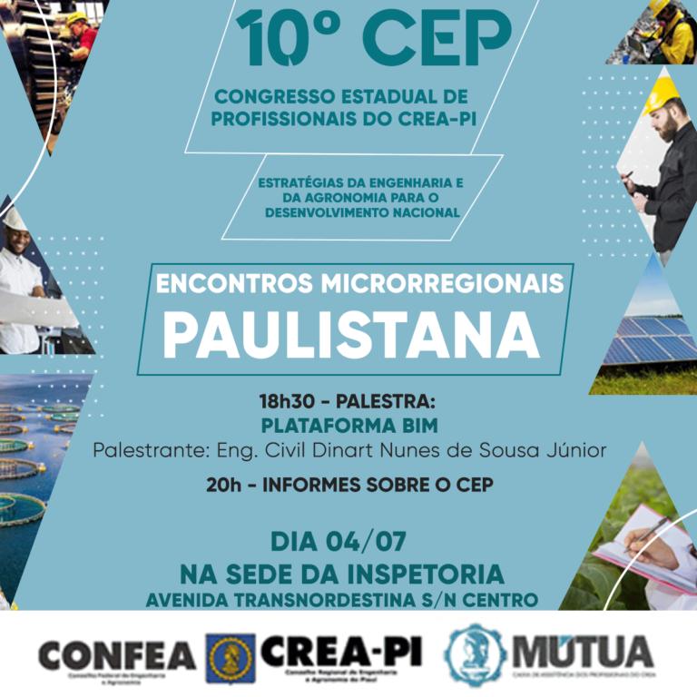 Picos recebe, nesta terça-feira (02), o Encontro Microrregional do 10º CEP