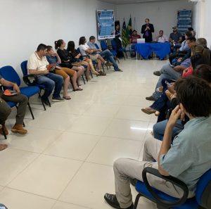 Profissionais e representantes de órgãos públicos participam de Encontro Microrregional de Uruçuí
