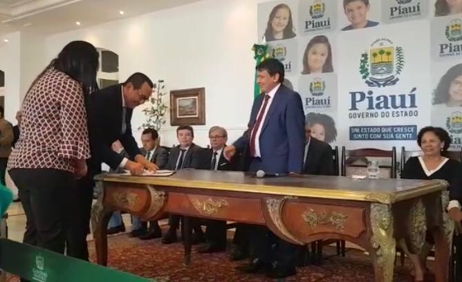 Crea-PI assina Pacto Interinstitucional pelo Desenvolvimento Econômico do Estado do Piauí