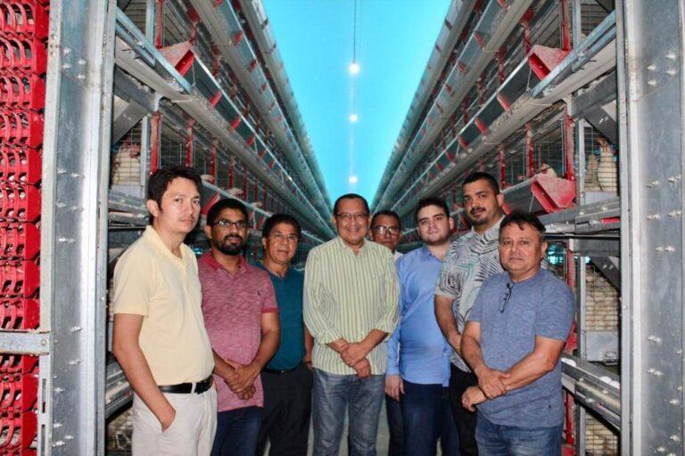 Presidente e Conselheiros do Crea-PI visitam a maior granja do Piauí