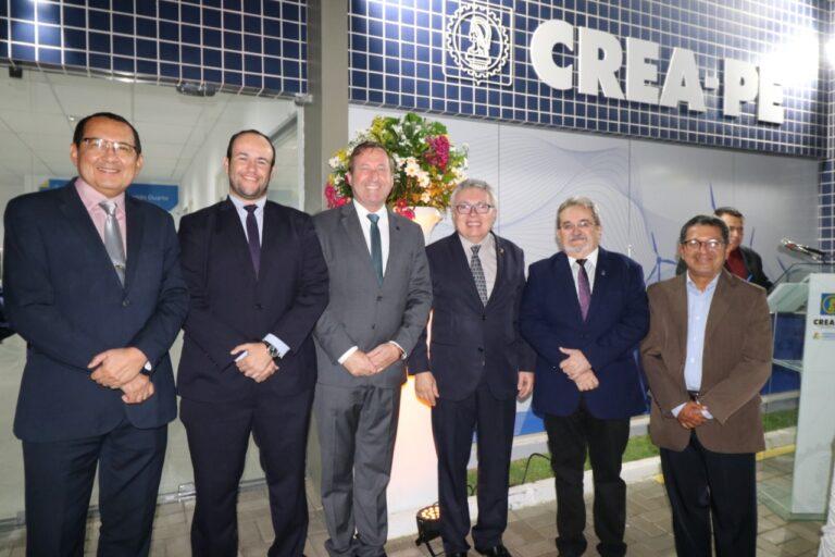 Presidente do Crea-PI prestigia inauguração de Inspetoria do Crea-PE em Araripina