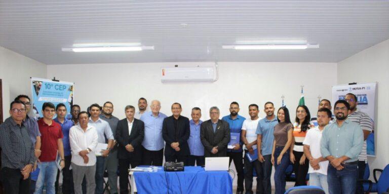 Profissionais de Oeiras discutem melhorias para o Sistema em Encontro Microrregional do 10º CEP