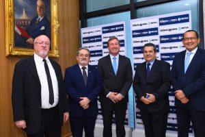 O presidente do Crea-PI convida Desembargador Carlos Augusto Brandão para proferir palestra no plenário do Confea