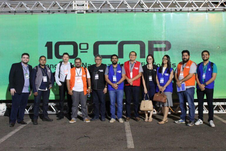 Delegação piauiense no 10º CNP