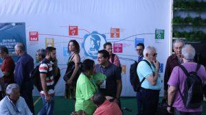 Mútua promove ODS em seu estande, na 76º Soea