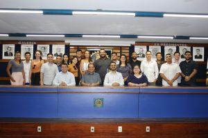 Estudantes de Engenharia Civil de Parnaíba participam do Conversando com o Presidente