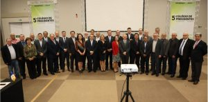 Presidentes se reúnem em Foz do Iguaçu (PR)