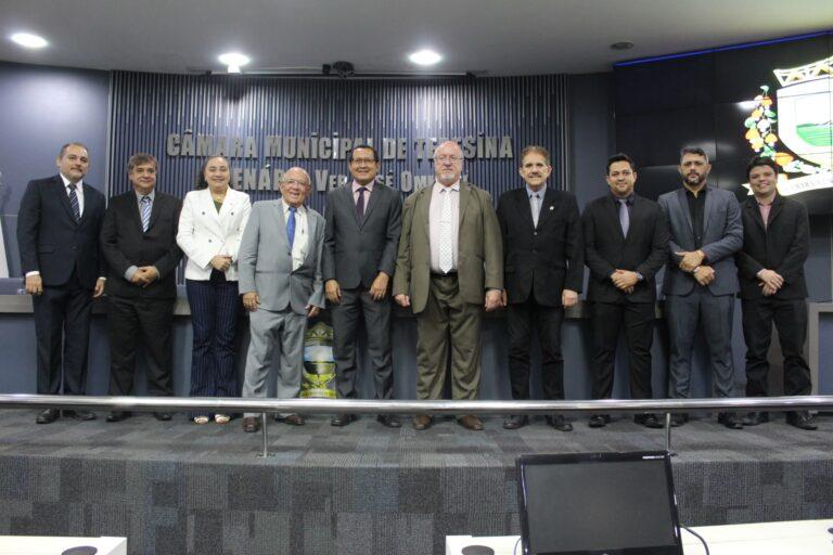 Câmara Municipal de Teresina homenageia o Crea-PI pelos seus 44 anos