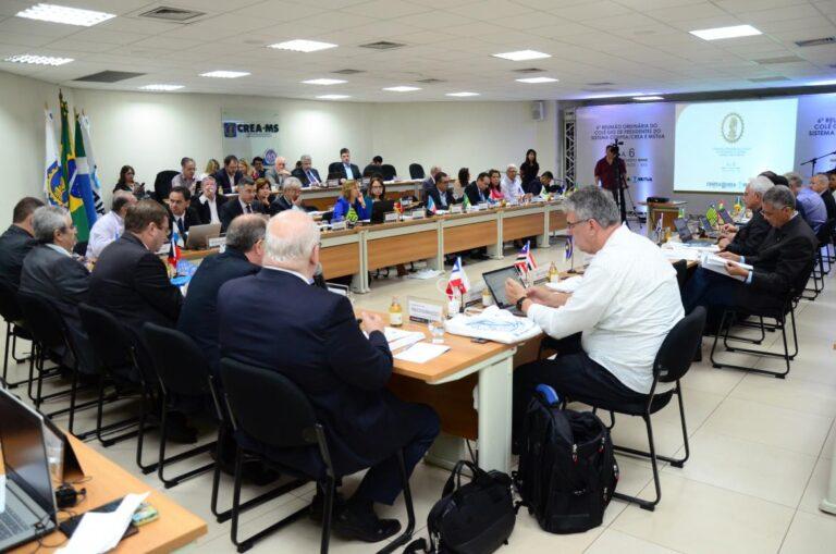 Crea-PI participa da última reunião de 2019 do Colégio de Presidentes