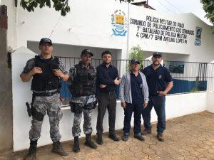 Fiscalização Integrada com o apoio da Polícia Militar do Piauí