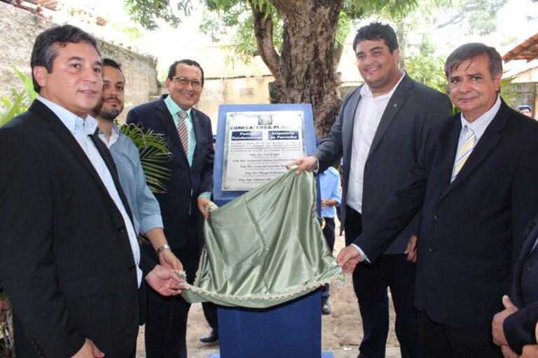 Evento marca lançamento da Pedra Fundamental da construção do auditório da inspetoria de Parnaíba