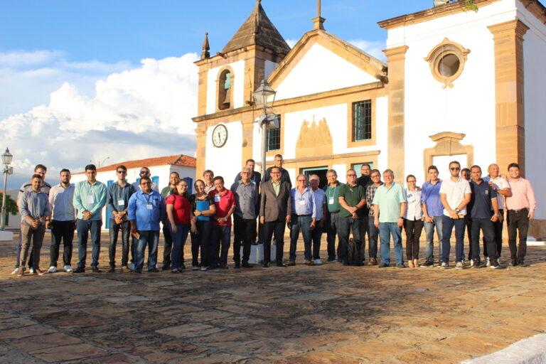 Presidente e membros do Crea-PI visitam centro histórico de Oeiras