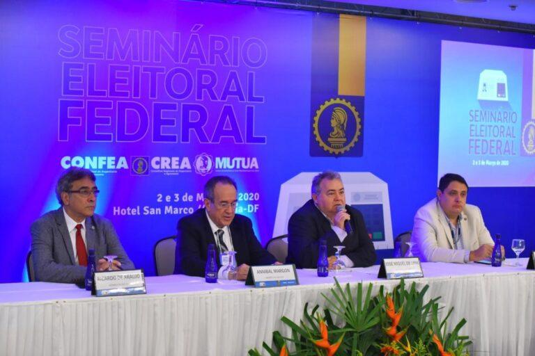 Sistema Confea/Crea e Mútua realiza seminário eleitoral