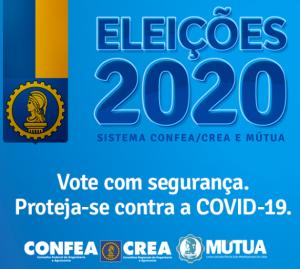 Eleições do Sistema Confea/Crea e Mútua serão em 1º de outubro