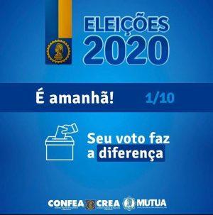 Eleições do Sistema Confea/ Crea e Mútua acontecem nesta quinta-feira (01)