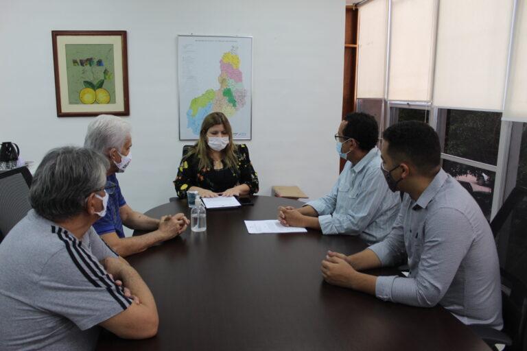 Edital Seduc-PI: Crea-PI e Senge-PI se reúnem com a secretária de Administração do Estado
