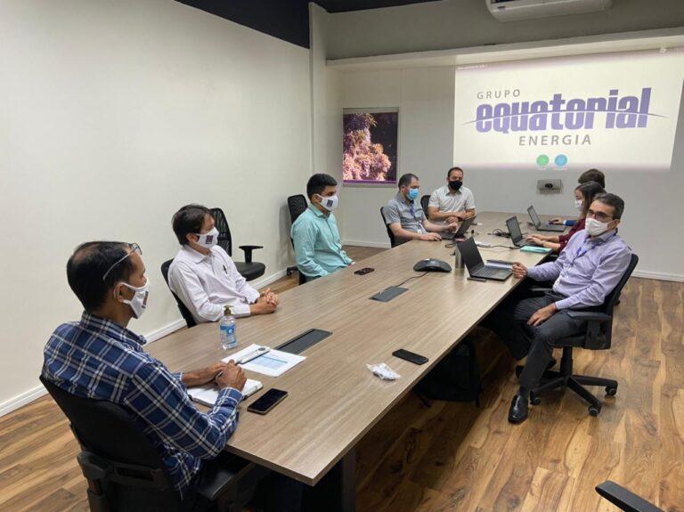 Crea-PI reúne-se com a Equatorial para tratar sobre normas técnicas e melhorias no atendimento aos engenheiros eletricistas