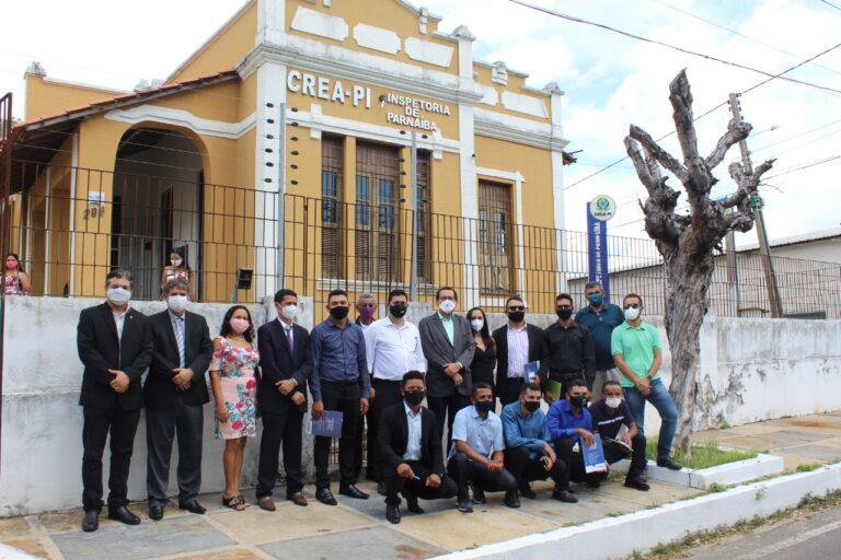 Inspetoria do Crea-PI, em Parnaíba, recebe formandos do curso de Agronomia do Pronera