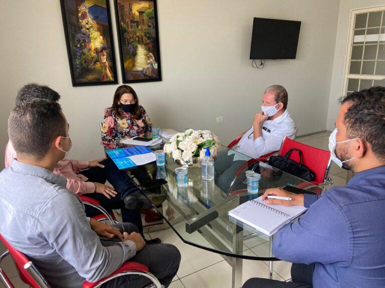 Acordo de Cooperação Técnica é tema de reunião entre o Crea-PI e a Jucepi